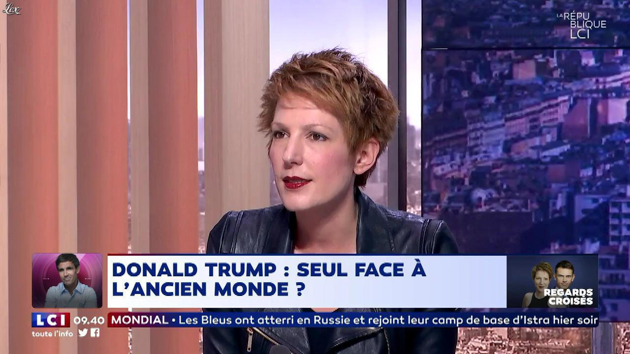 Natacha Polony dans la Republique LCI. Diffusé à la télévision le 11/06/18.