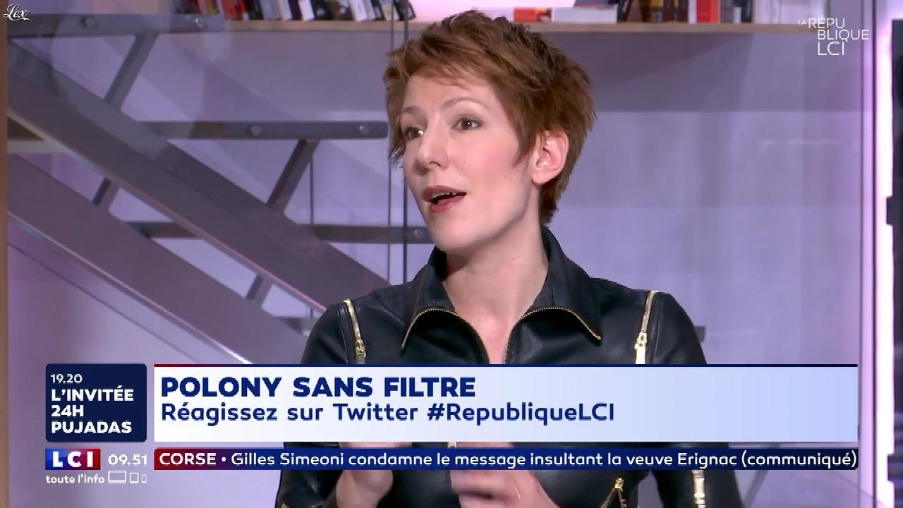 Natacha Polony dans la Republique LCI. Diffusé à la télévision le 12/02/18.