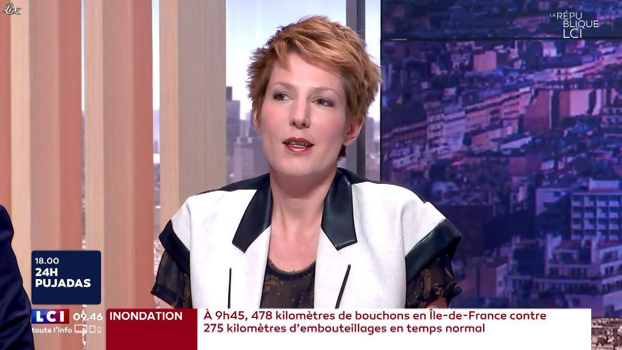 Natacha Polony dans la Republique LCI. Diffusé à la télévision le 12/06/18.