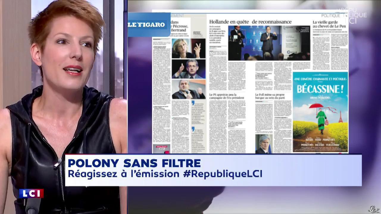 Natacha Polony dans la Republique LCI. Diffusé à la télévision le 19/06/18.