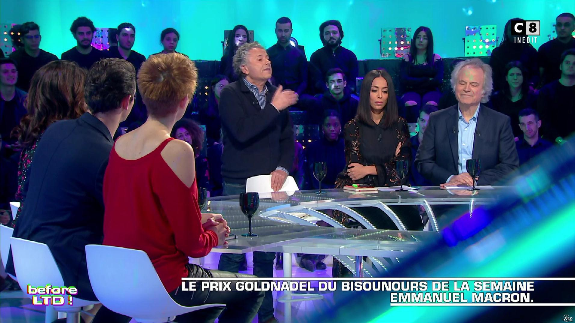Natacha Polony dans les Terriens du Dimanche. Diffusé à la télévision le 10/02/19.