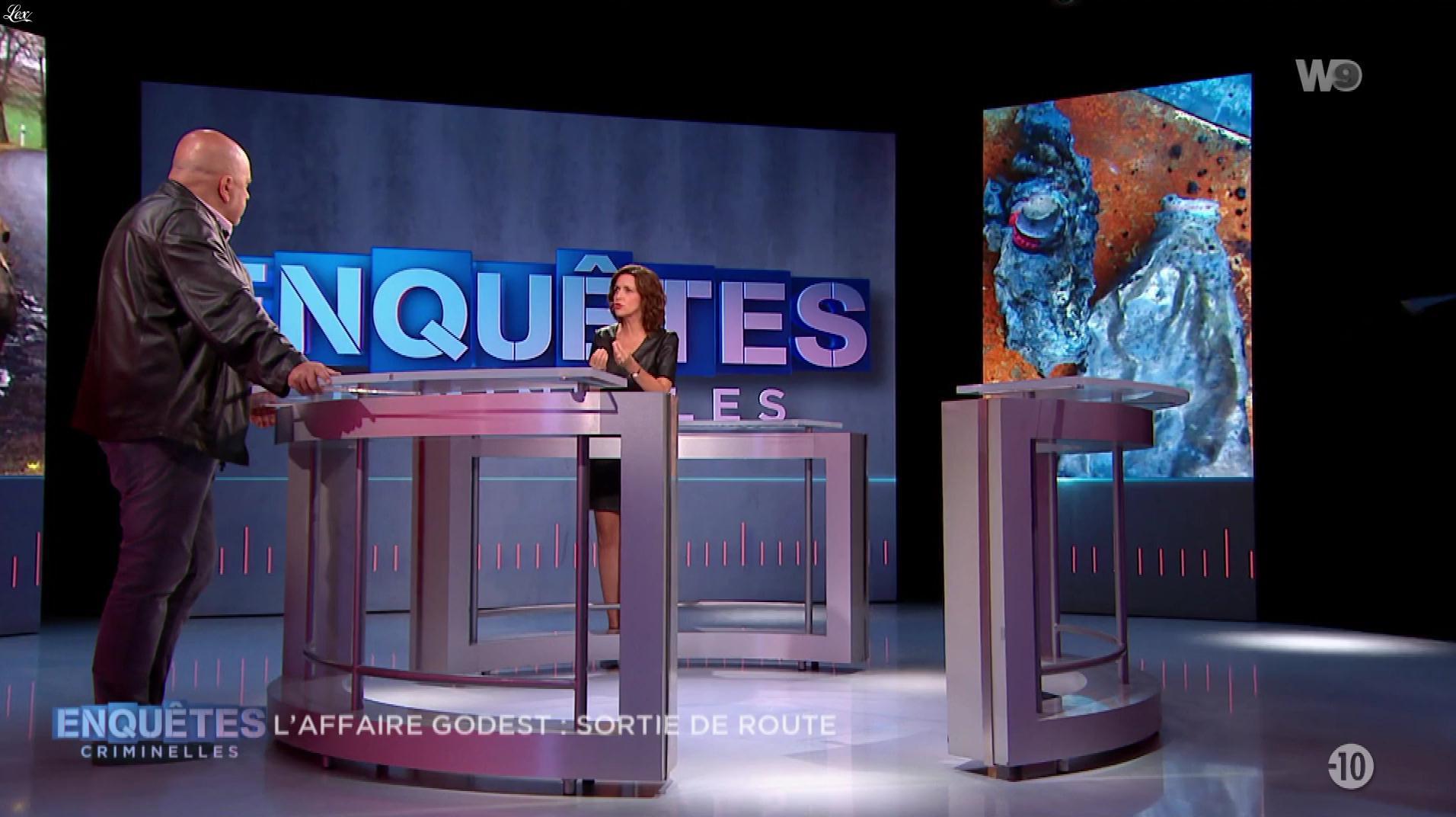 Nathalie Renoux dans Enquêtes Criminelles. Diffusé à la télévision le 08/05/19.