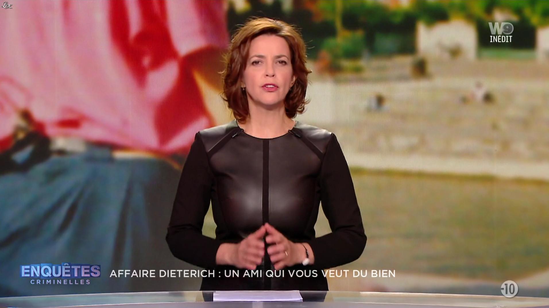 Nathalie Renoux dans Enquêtes Criminelles. Diffusé à la télévision le 15/05/19.