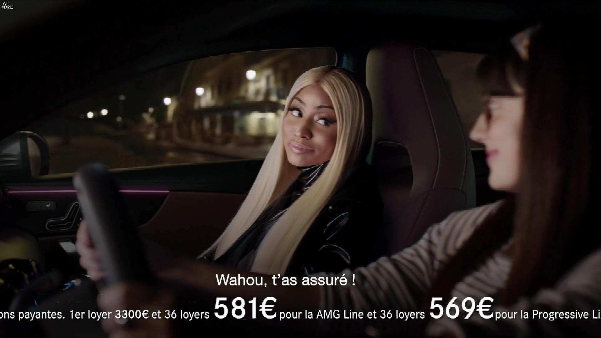 Nicki Minaj dans une Publicité pour Mercedes. Diffusé à la télévision le 30/04/18.