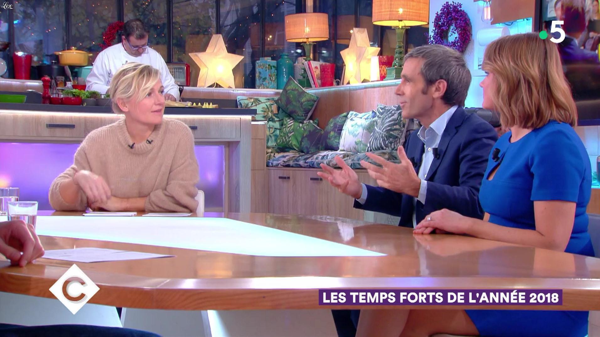 Pascale De La Tour Du Pin dans C à Vous. Diffusé à la télévision le 27/12/18.