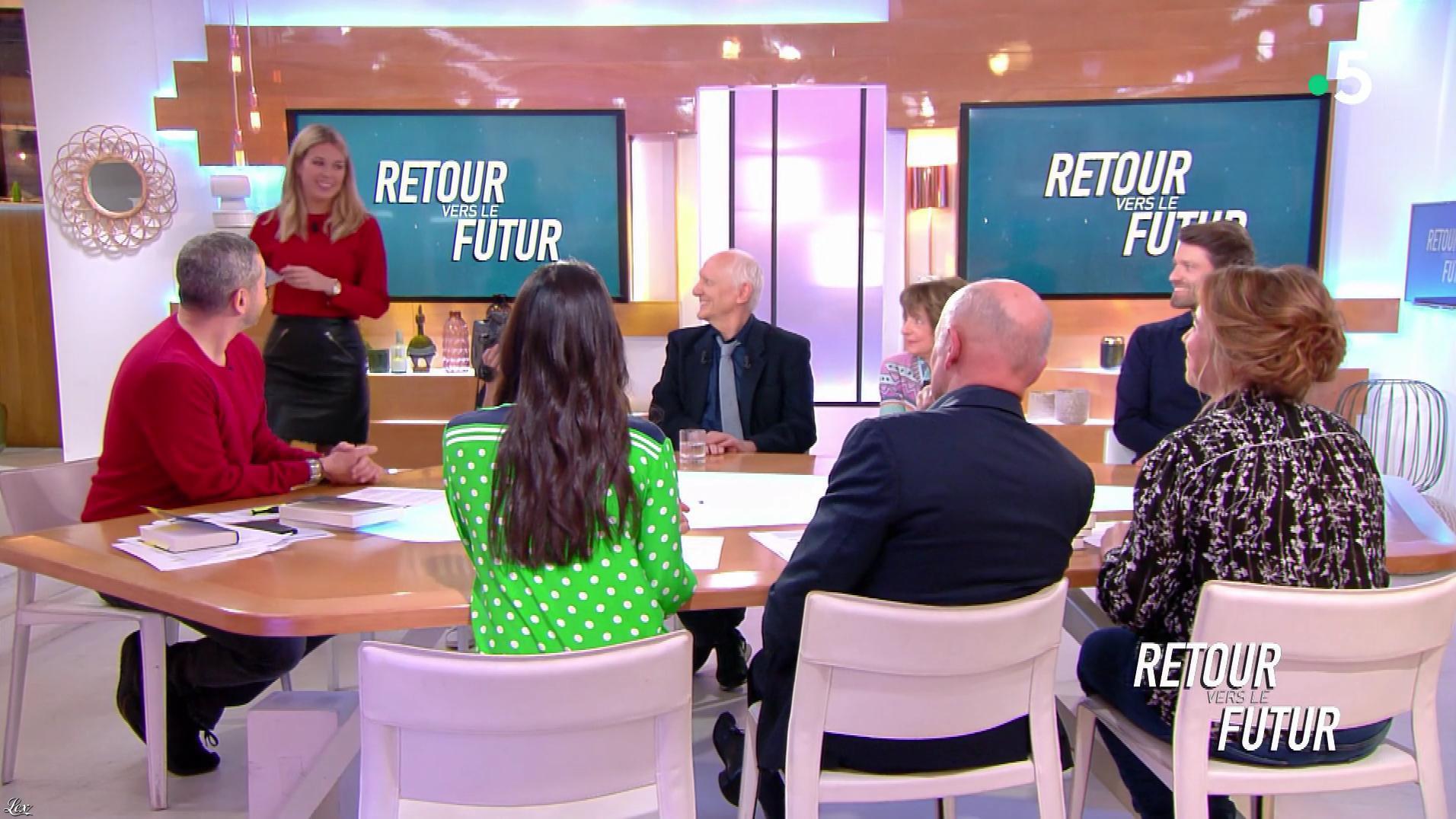 Pauline Claviere dans C l'Hebdo. Diffusé à la télévision le 02/02/19.
