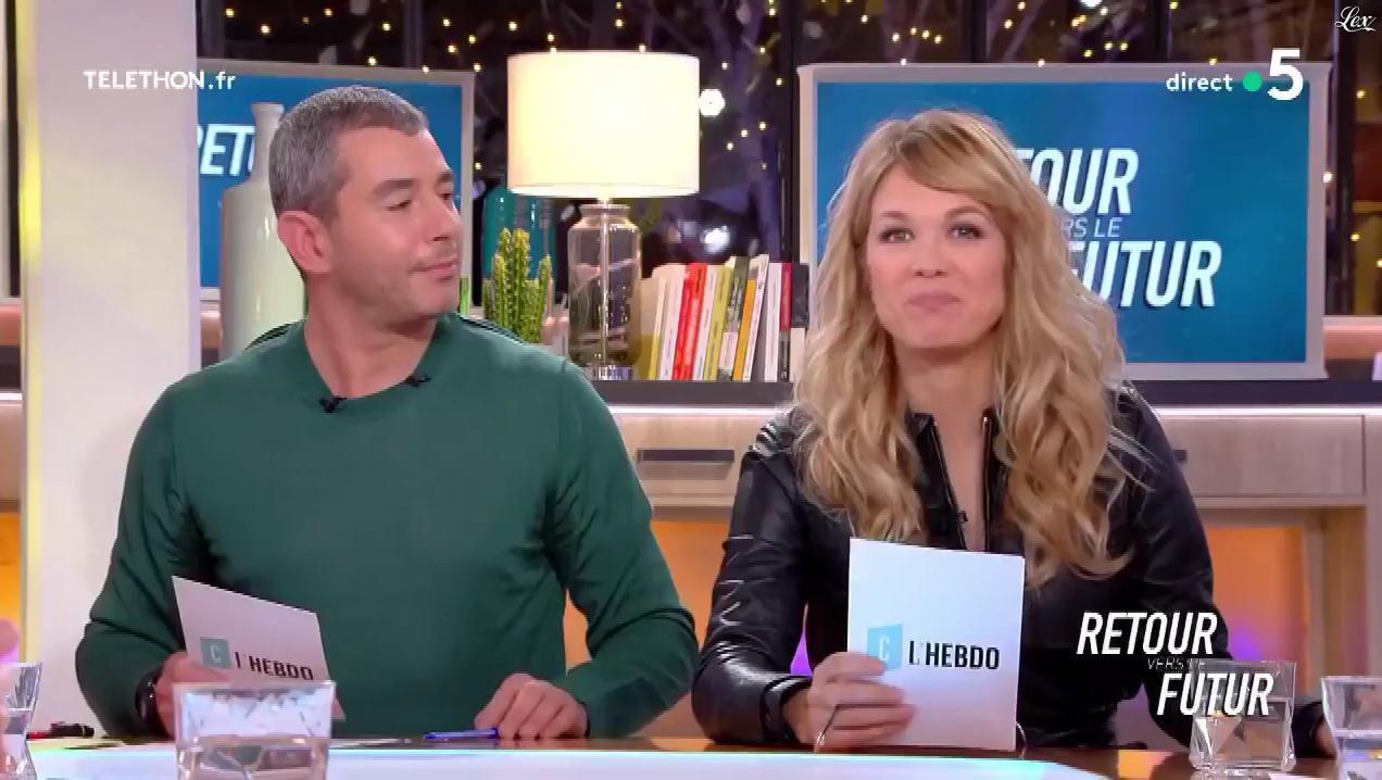 Pauline Claviere dans C l'Hebdo. Diffusé à la télévision le 08/12/18.
