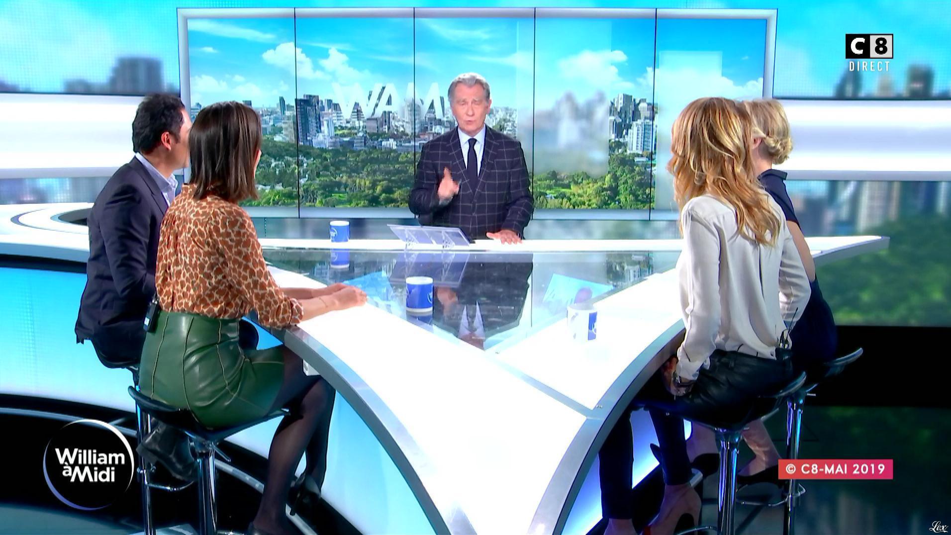 Raphaële Marchal et Rachel Bourlier dans William à Midi. Diffusé à la télévision le 15/05/19.