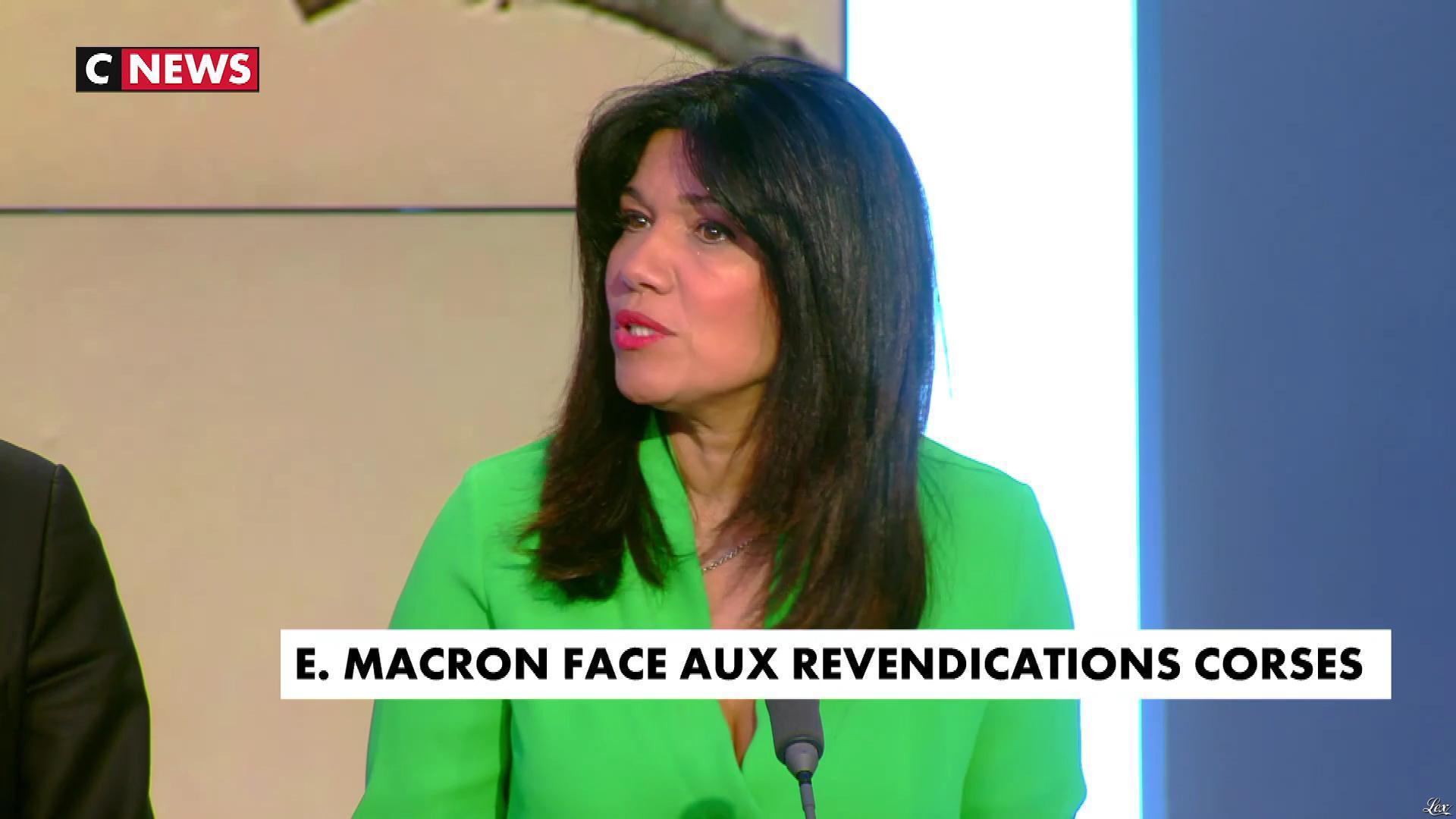 Samia Ghali dans Punchline. Diffusé à la télévision le 06/02/18.