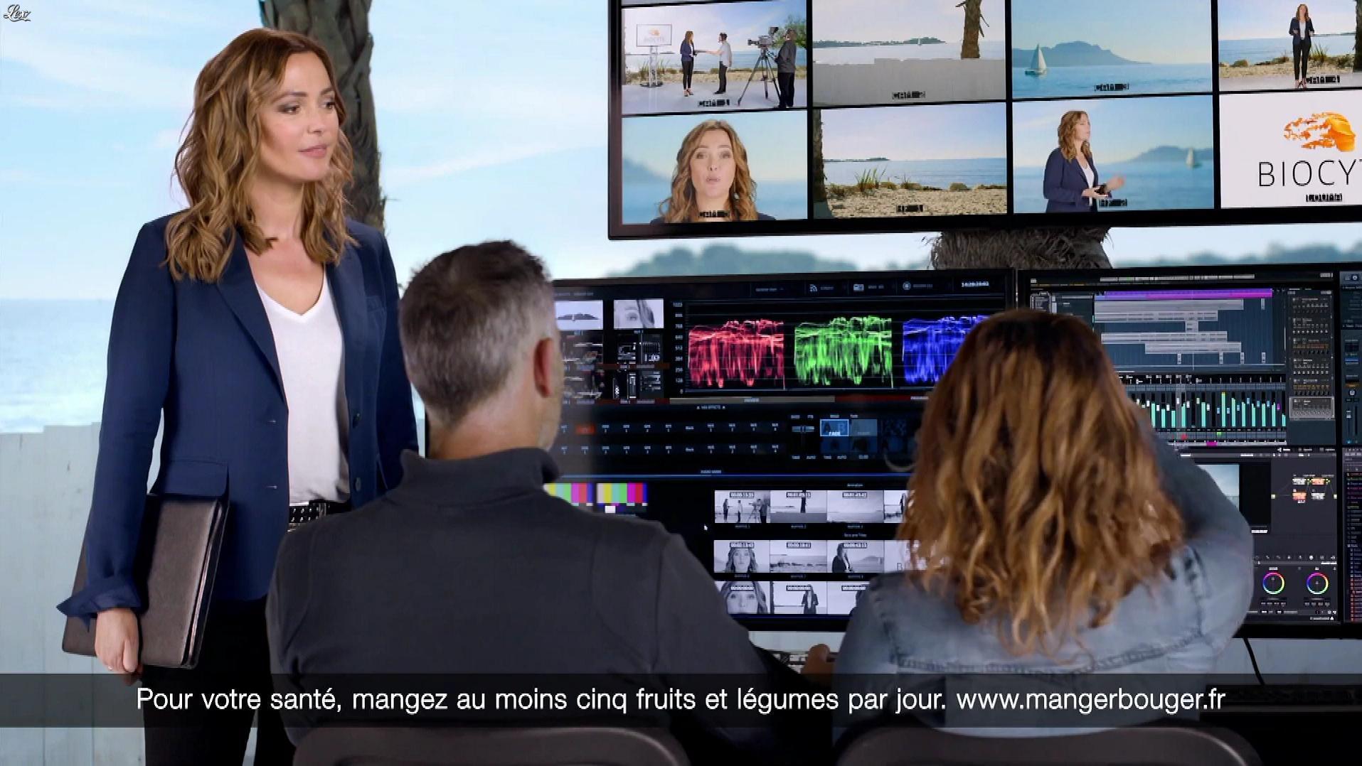 Sandrine Quétier dans une Publicité pour Biocyte. Diffusé à la télévision le 19/02/19.