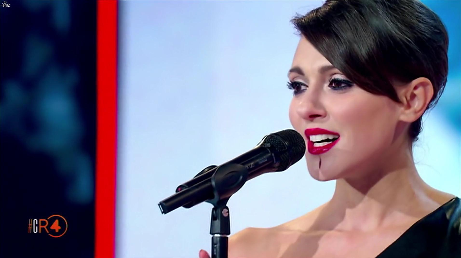 Simona Molinari dans la RepubbliÇa Delle Donne. Diffusé à la télévision le 28/11/18.