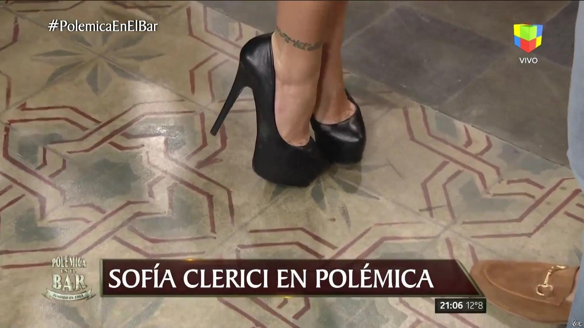 Sofia Clerici dans PolemiÇa en El Bar. Diffusé à la télévision le 19/05/17.