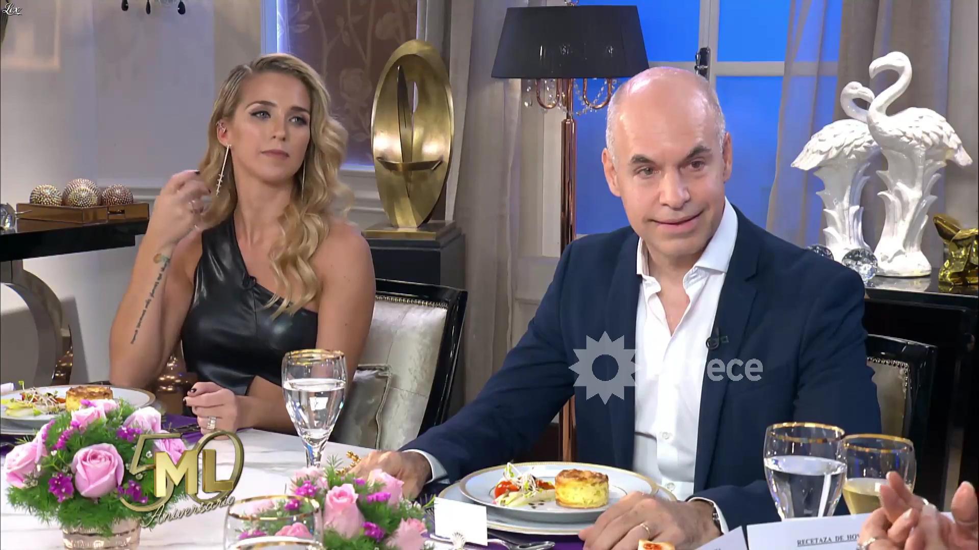 Soledad Fandino dans la Noche de Mirtha. Diffusé à la télévision le 20/10/18.
