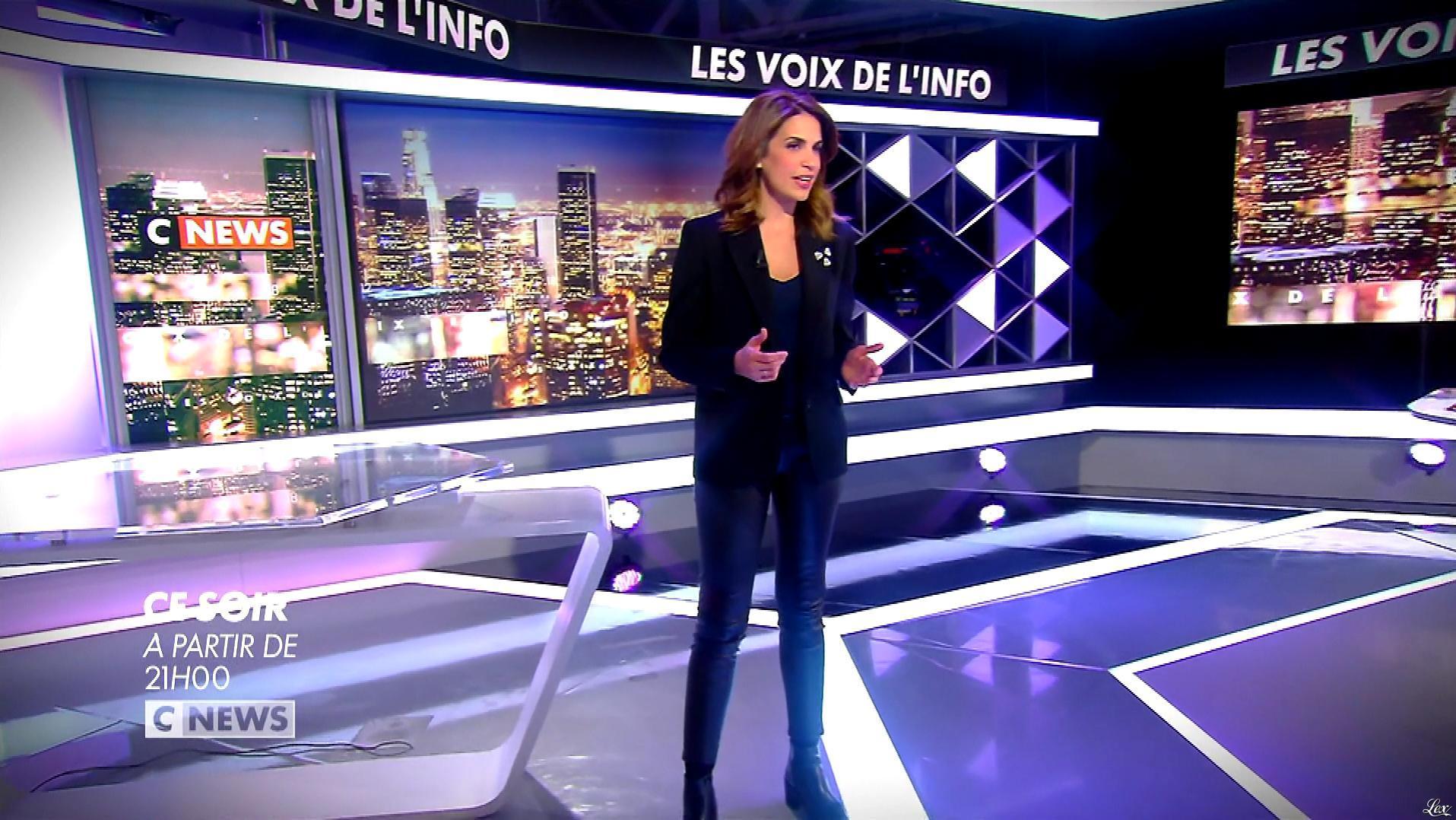 Sonia Mabrouk dans une Bande-Annonce des Voix de l'Info. Diffusé à la télévision le 25/02/19.