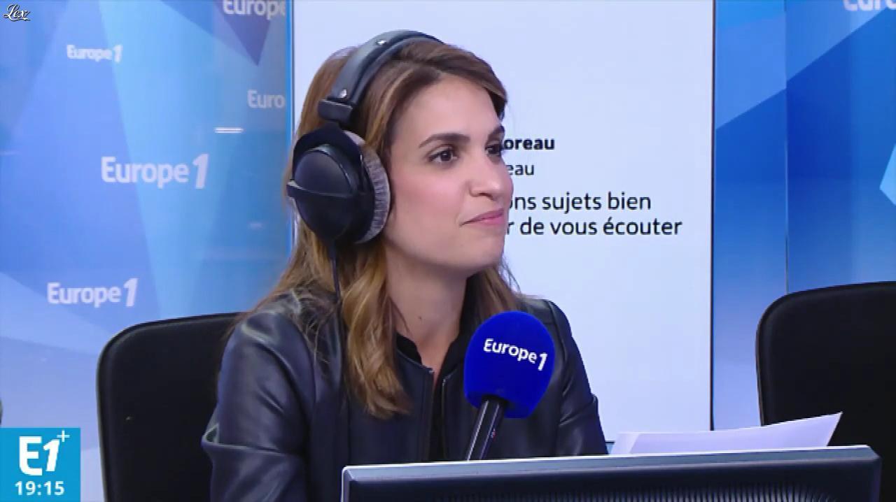 Sonia Mabrouk dans Europe 1. Diffusé à la télévision le 27/09/18.