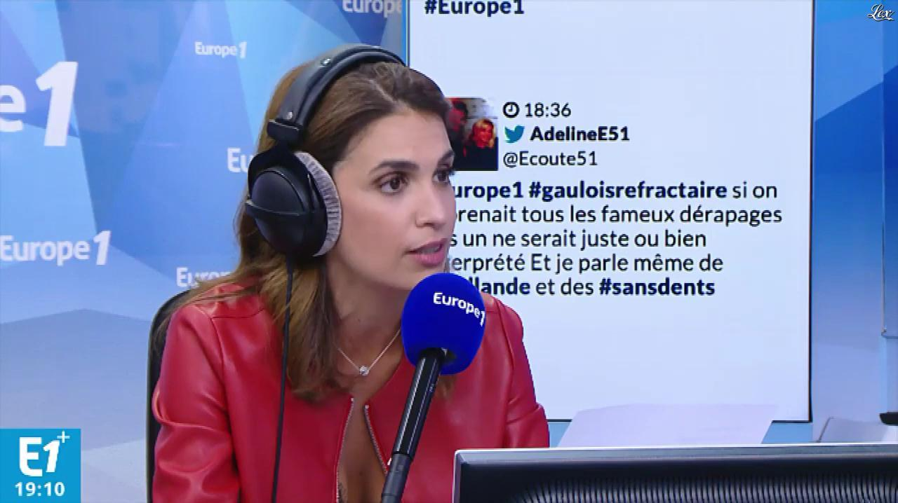 Sonia Mabrouk dans Europe 1. Diffusé à la télévision le 30/08/18.