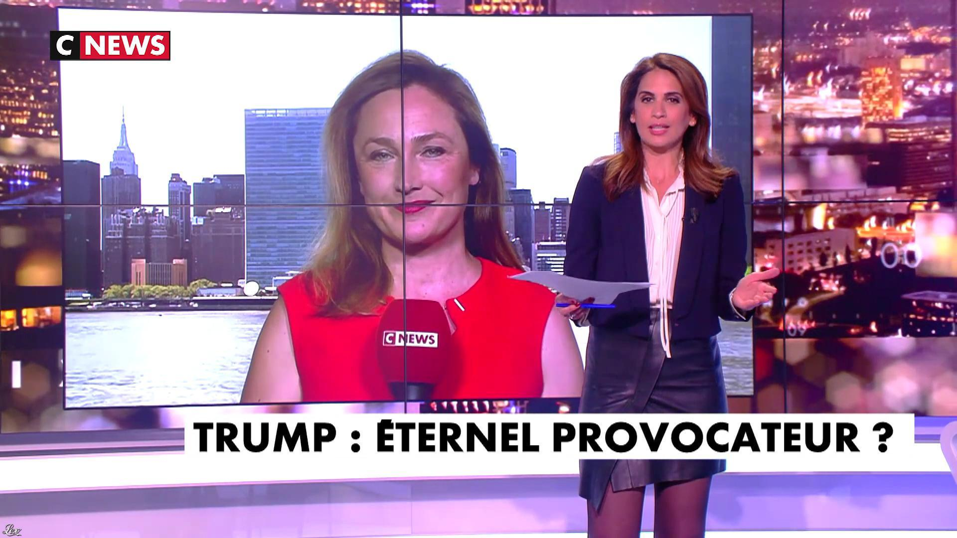 Sonia Mabrouk dans les Voix de l'Info. Diffusé à la télévision le 03/06/19.