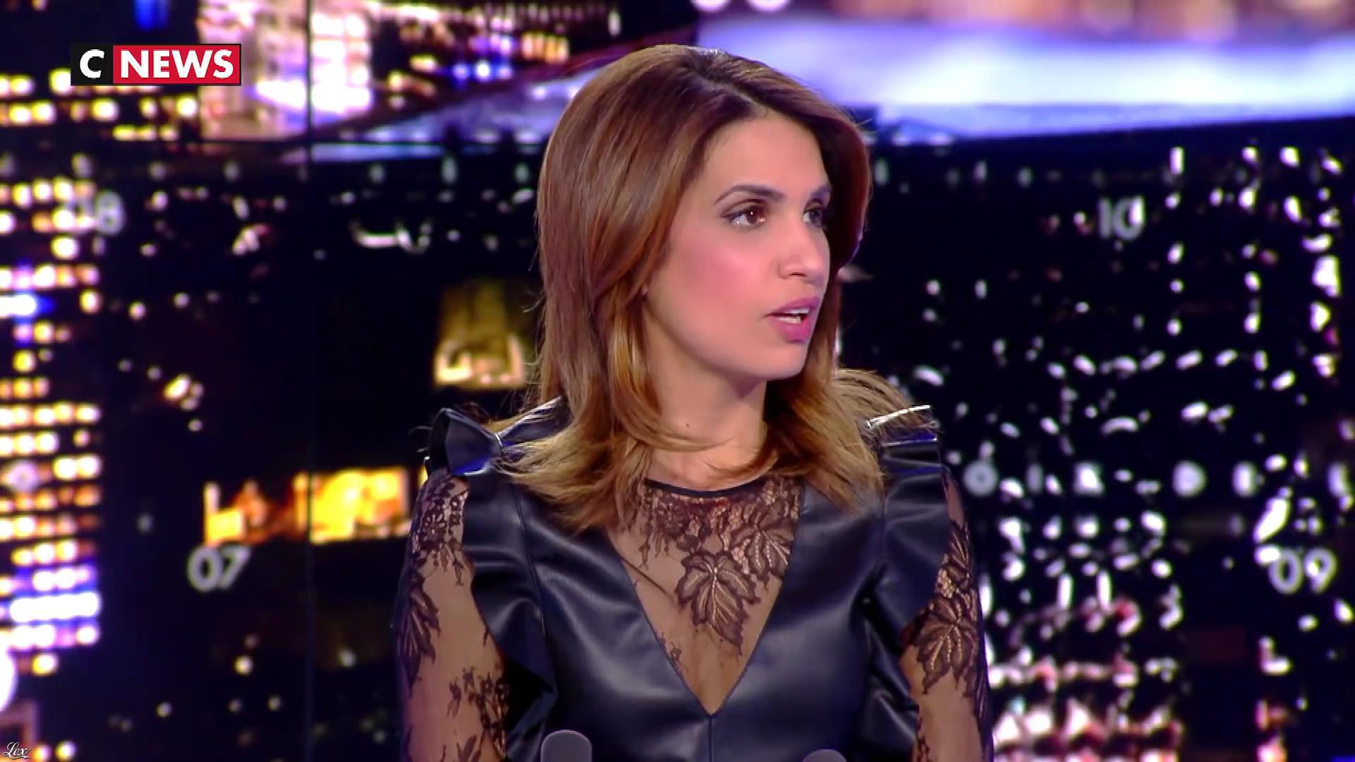 Sonia Mabrouk dans les Voix de l'Info. Diffusé à la télévision le 04/04/19.