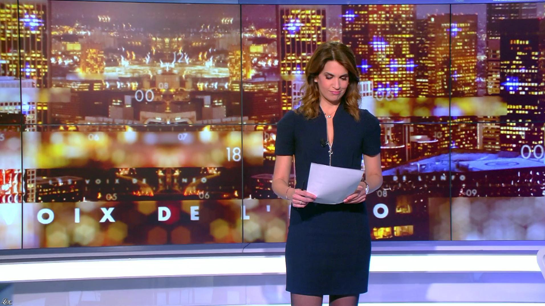 Sonia Mabrouk dans les Voix de l'Info. Diffusé à la télévision le 13/06/19.