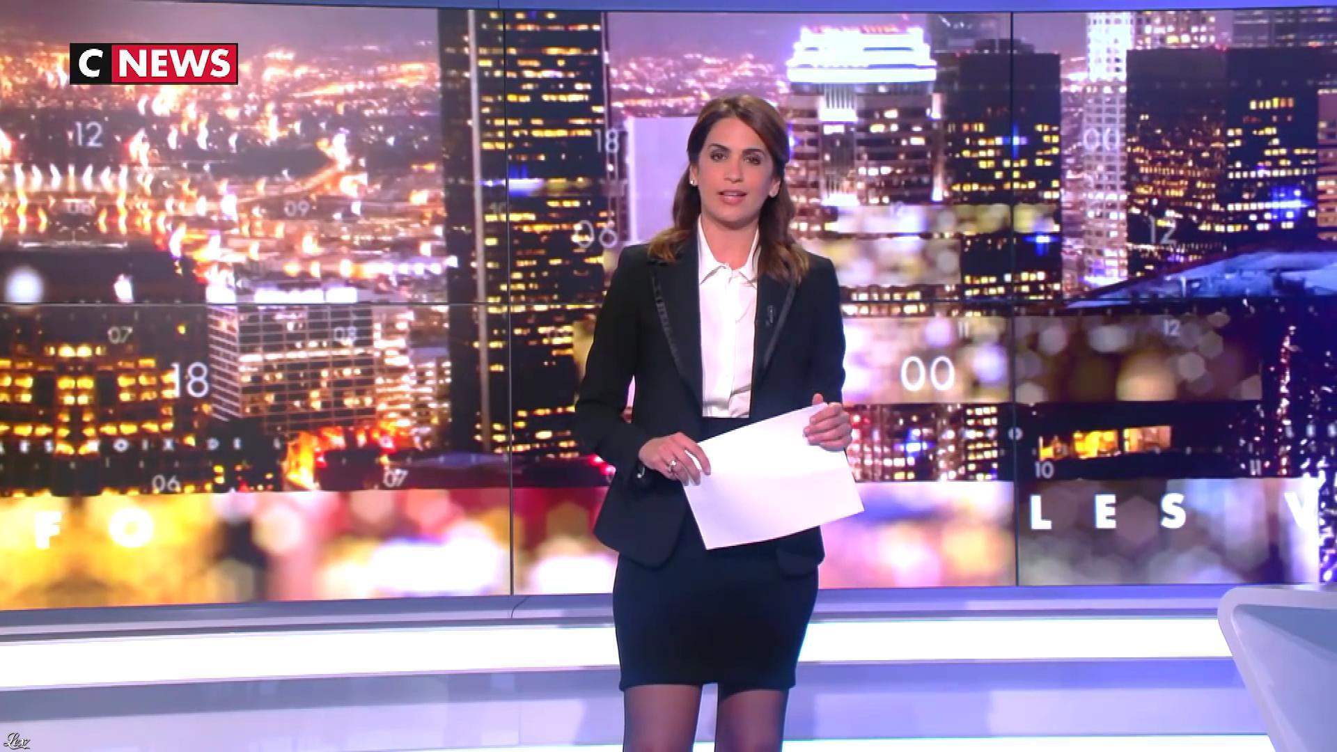 Sonia Mabrouk dans les Voix de l'Info. Diffusé à la télévision le 21/05/19.