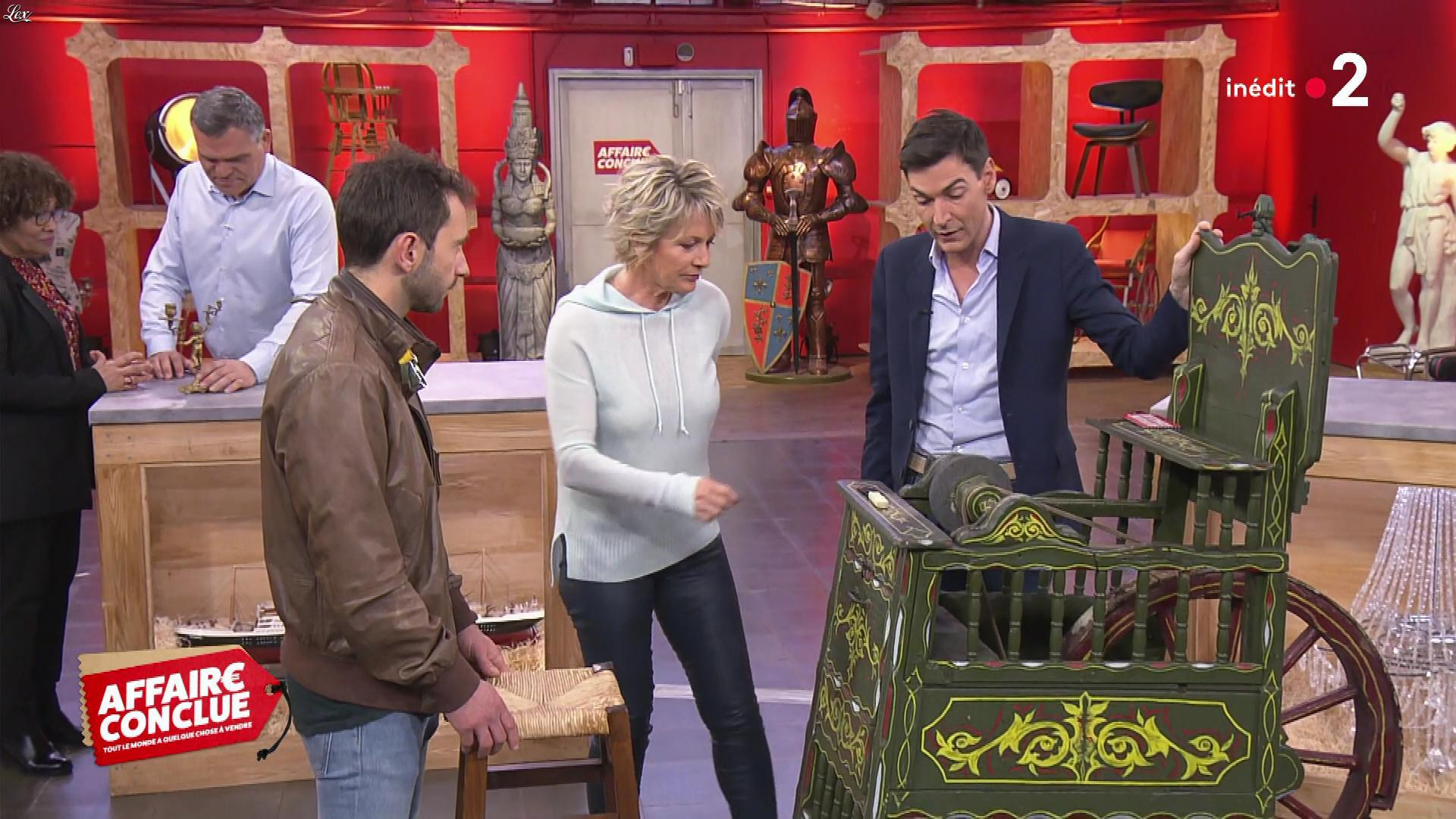 Sophie Davant dans Affaire Conclue. Diffusé à la télévision le 06/05/19.