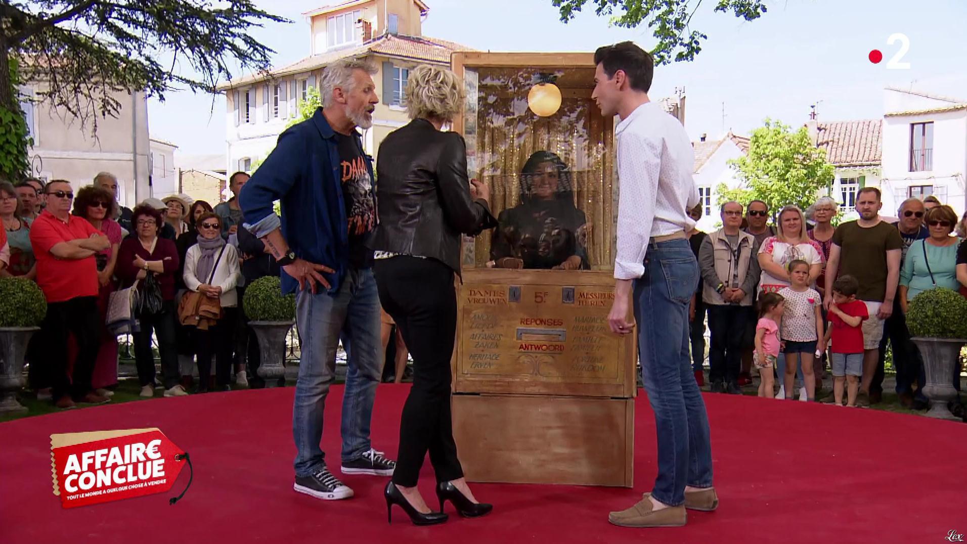 Sophie Davant dans Affaire Conclue. Diffusé à la télévision le 30/05/19.