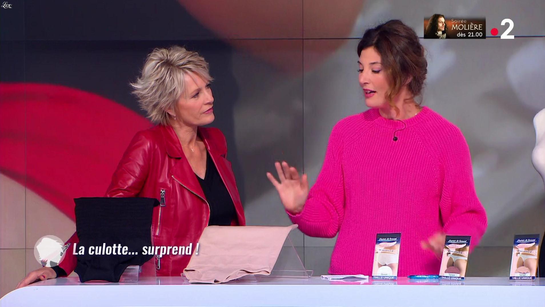 Sophie Davant dans c'est au Programme. Diffusé à la télévision le 13/05/19.
