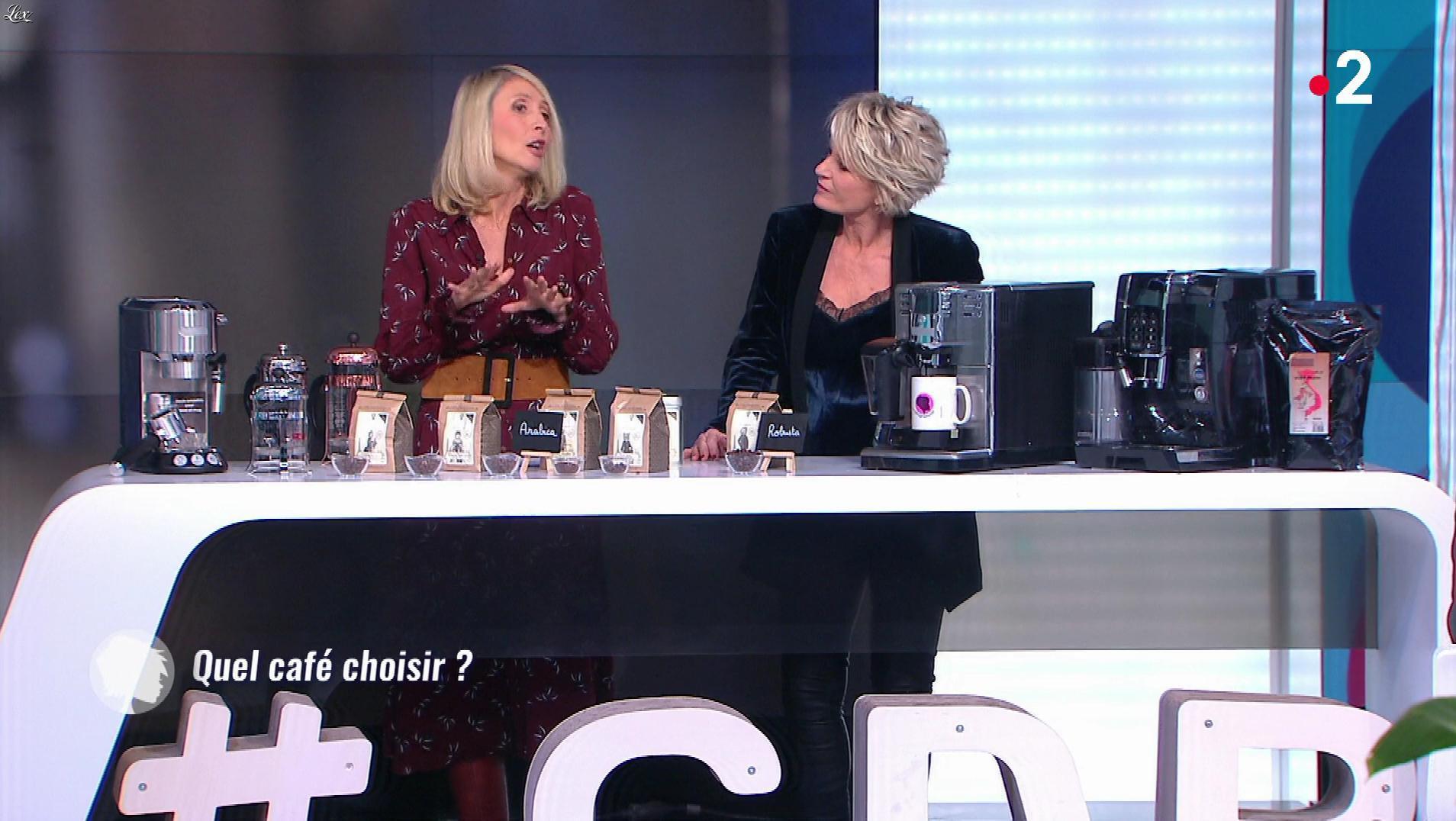 Sophie Davant dans c'est au Programme. Diffusé à la télévision le 21/03/19.