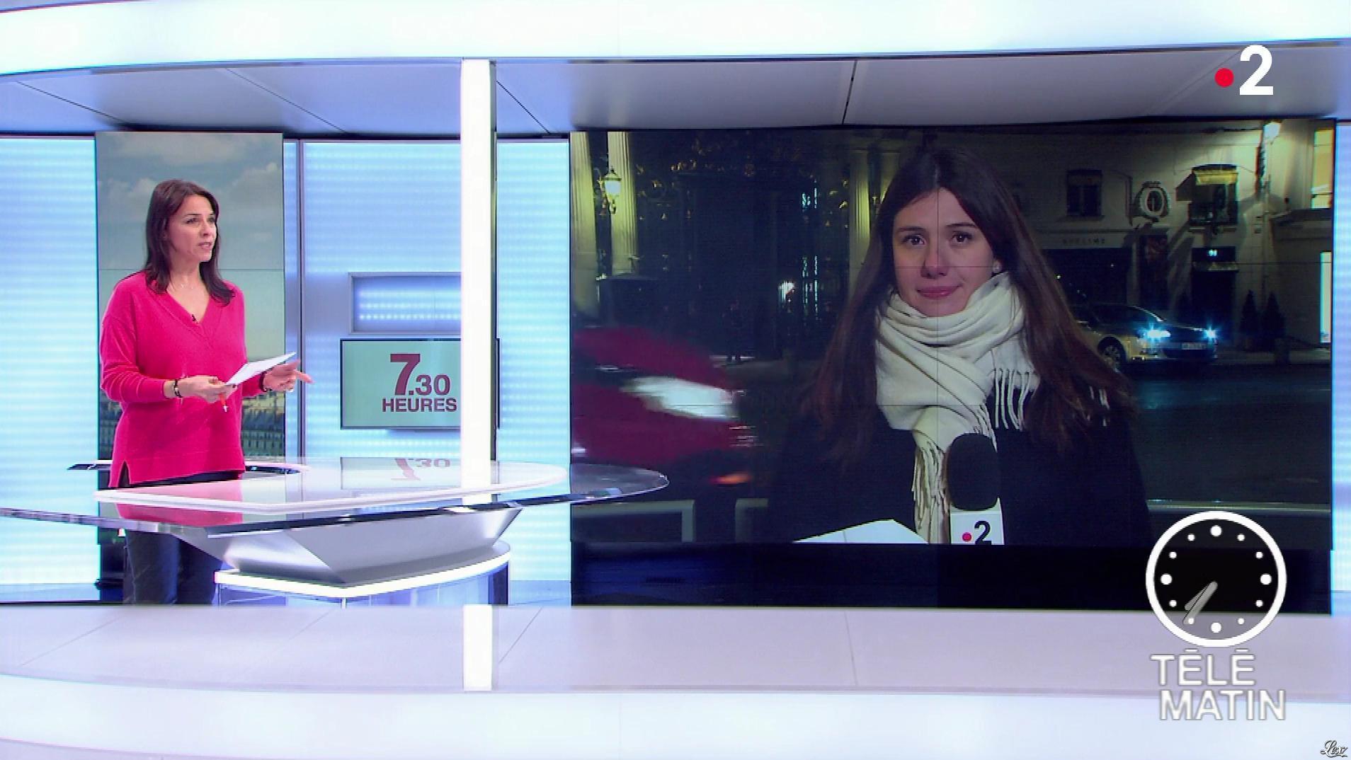 Sophie le Saint dans Télématin. Diffusé à la télévision le 14/12/18.