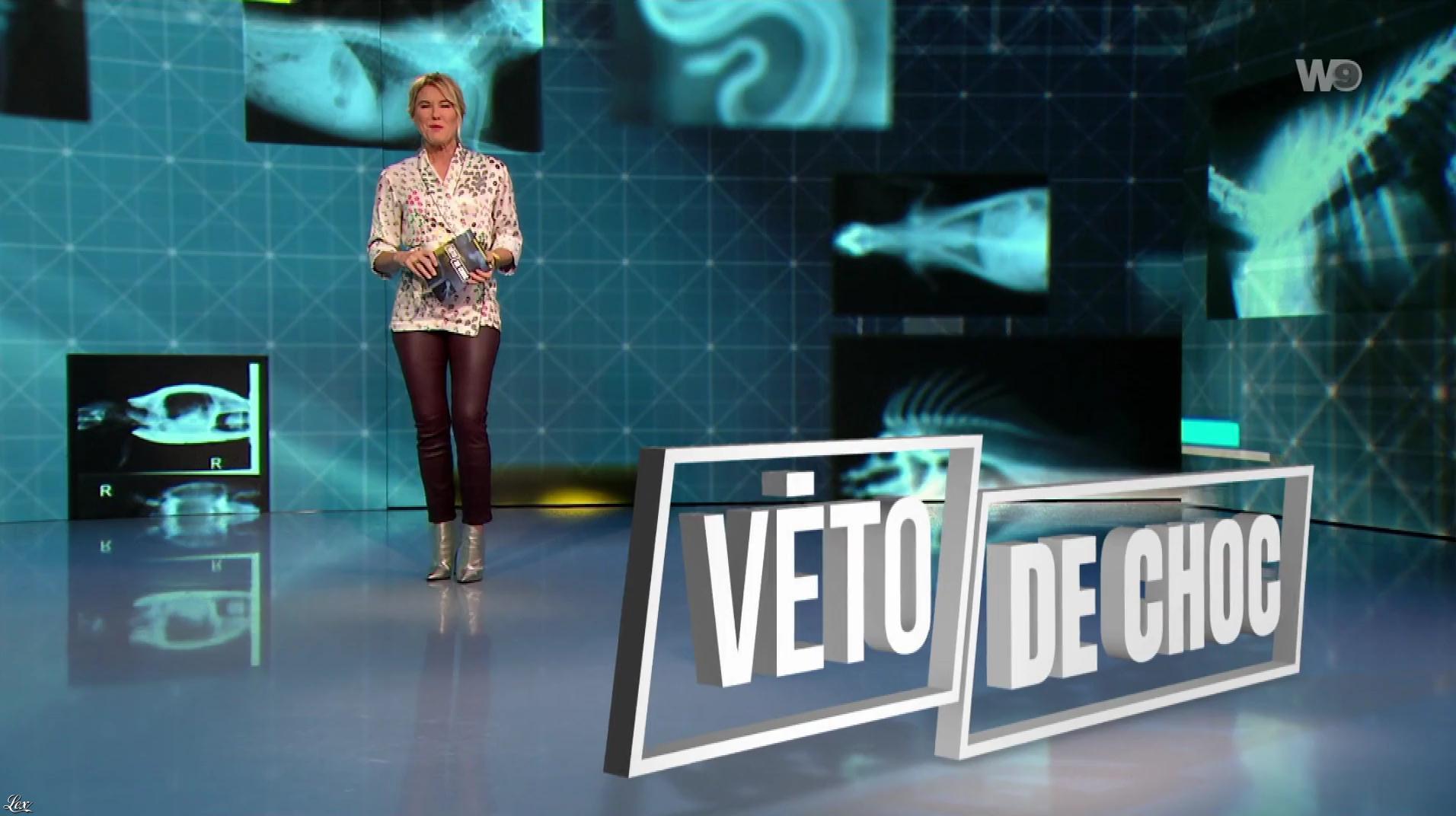 Stéphanie Renouvin dans Véto de Choc. Diffusé à la télévision le 29/01/19.