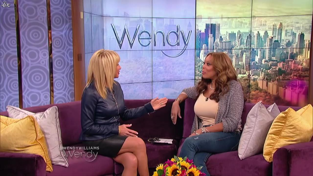Suzanne Somers dans The Wendy Williams Show. Diffusé à la télévision le 24/04/15.