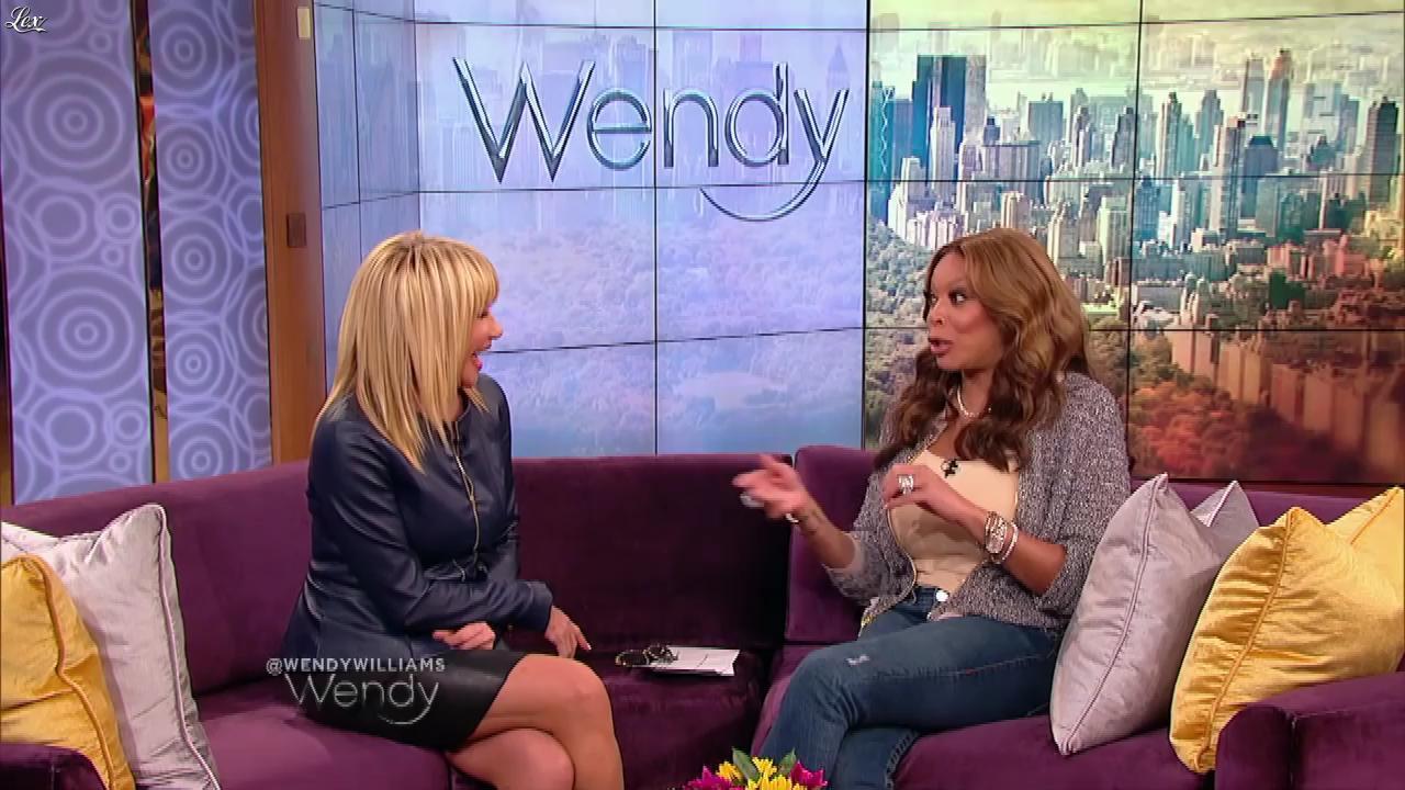 Suzanne Somers dans The Wendy Williams Show. Diffusé à la télévision le 24/04/15.