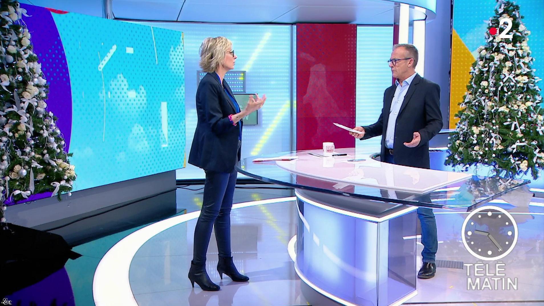 Sylvie Adigard dans Télématin. Diffusé à la télévision le 10/12/18.