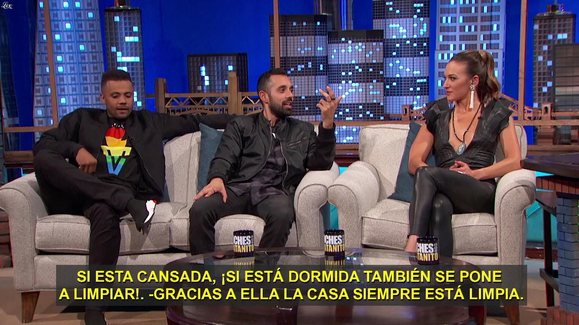 Tasya Télés dans Noches Con Platanito. Diffusé à la télévision le 14/05/18.