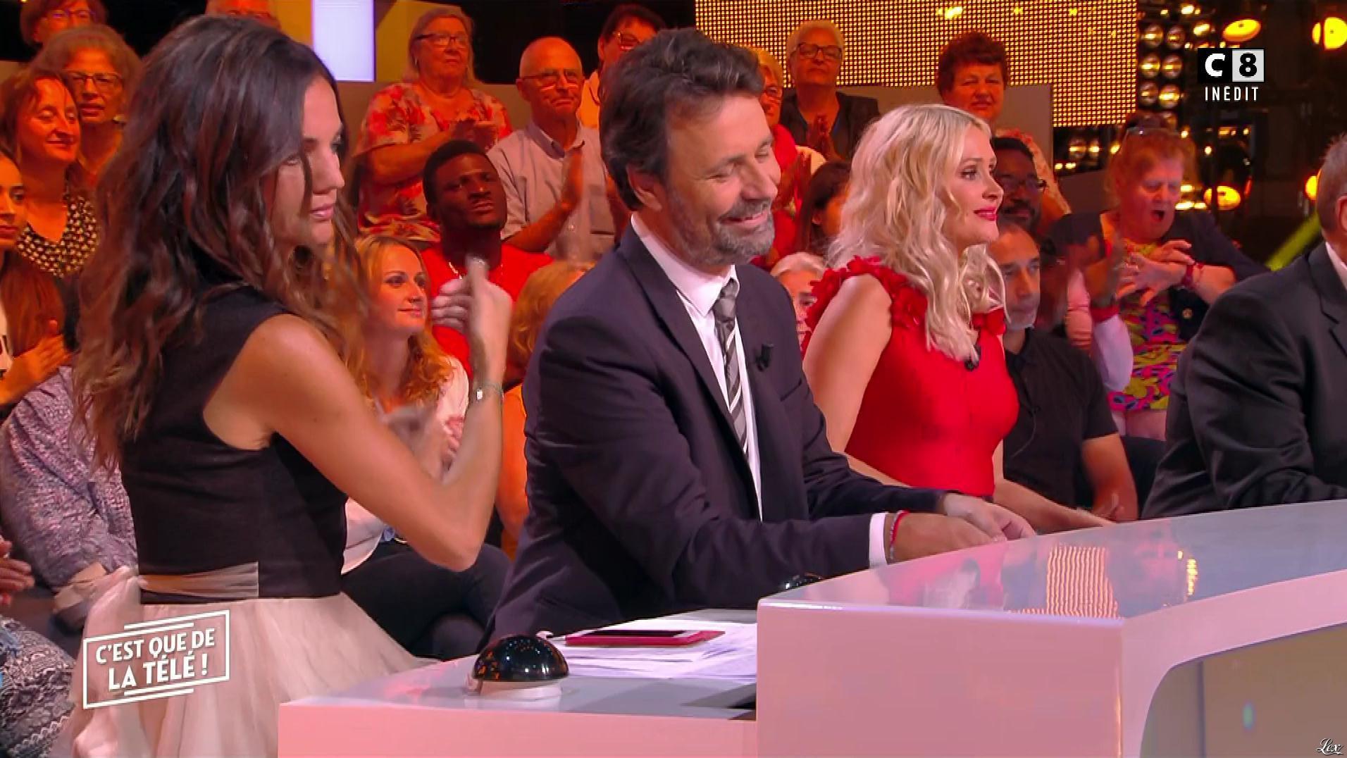 Tatiana Laurens Delarue et FrancesÇa Antoniotti dans c'est Que de la Télé. Diffusé à la télévision le 12/10/18.