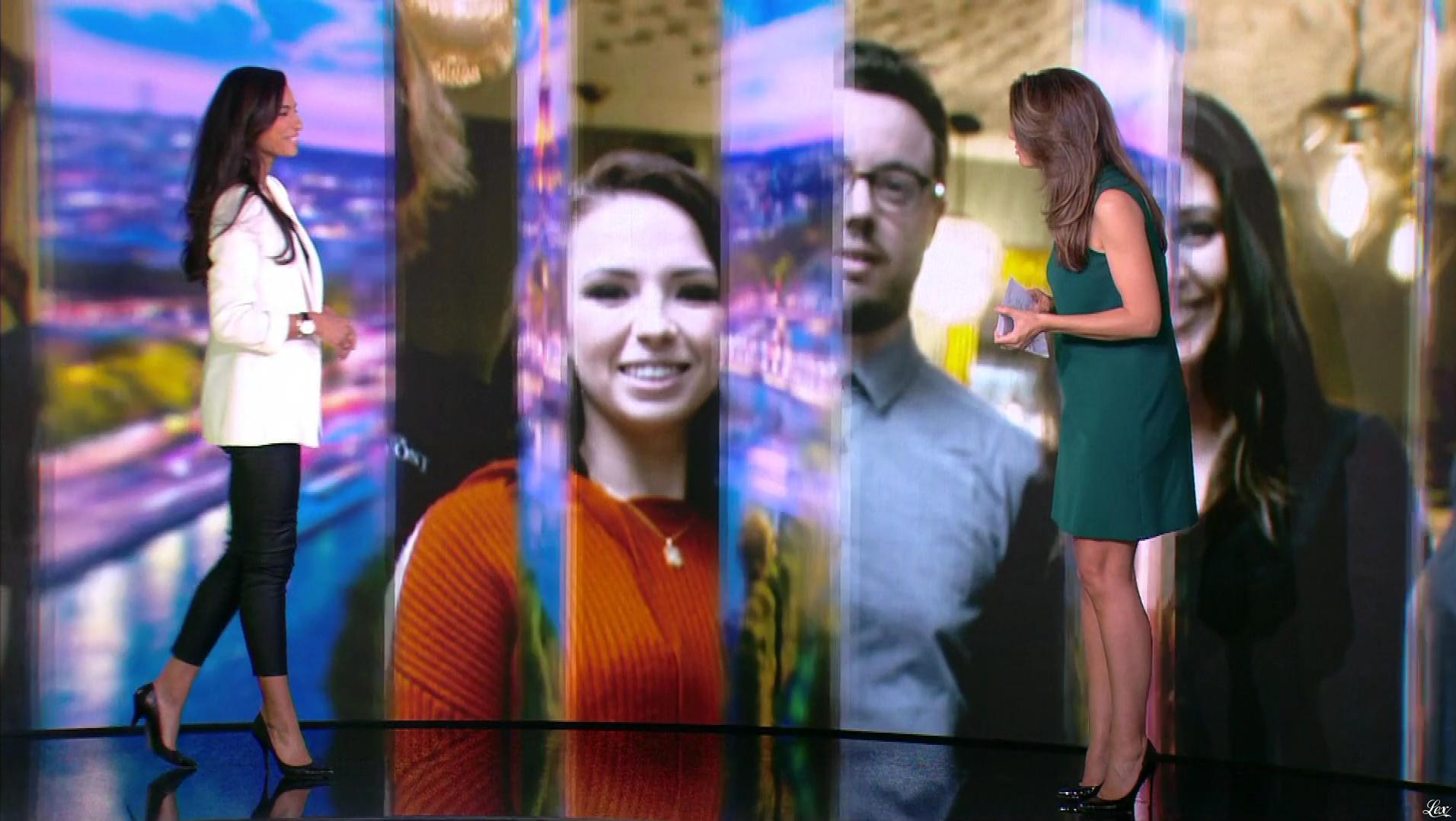 Tatiana Silva dans le 20h. Diffusé à la télévision le 02/11/18.
