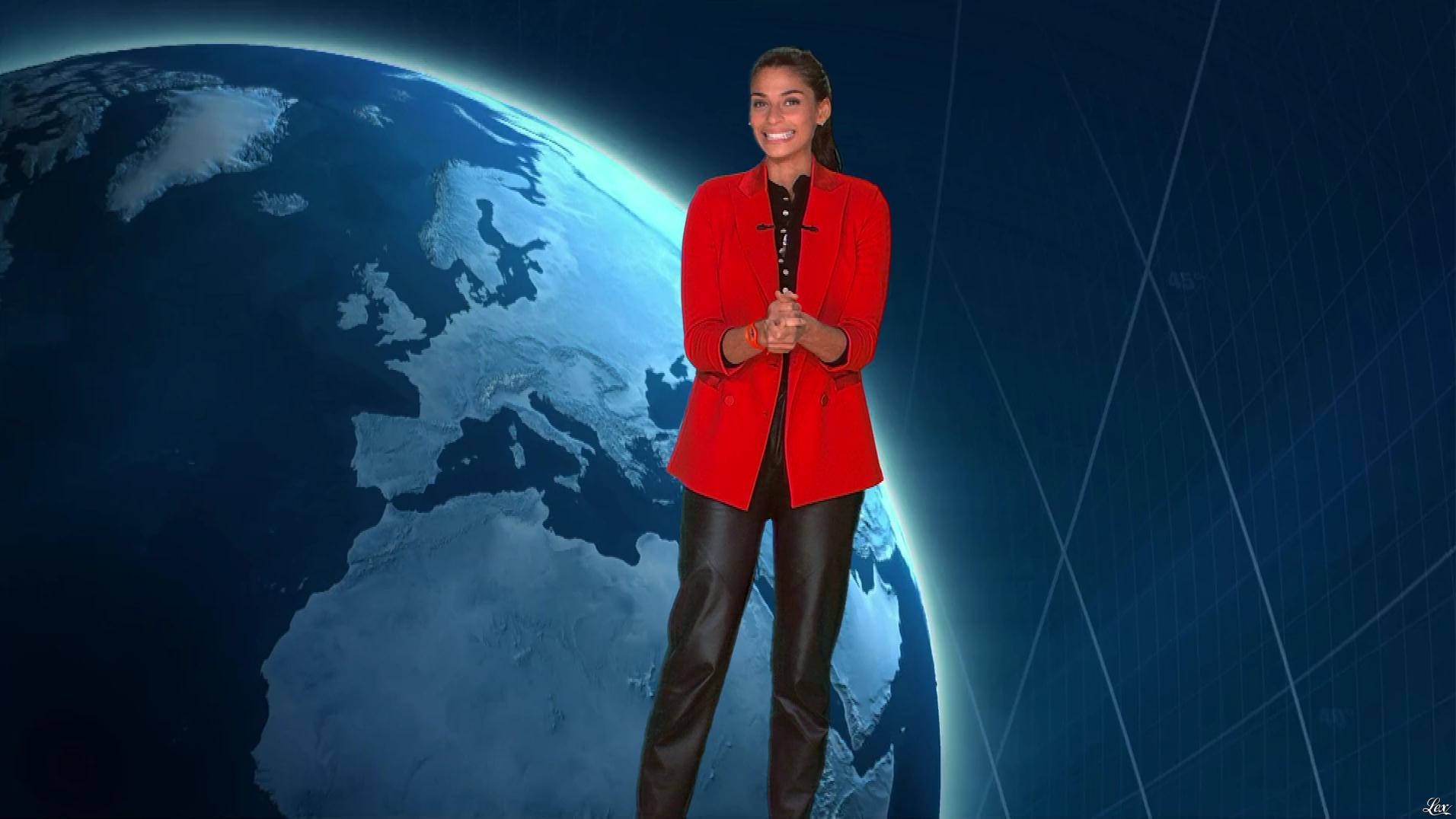 Tatiana Silva à la Météo. Diffusé à la télévision le 02/01/19.