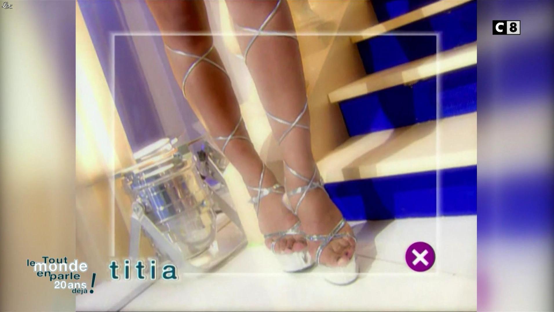 Titia dans Tout le Monde en Parle 20 Ans Deja. Diffusé à la télévision le 15/06/19.