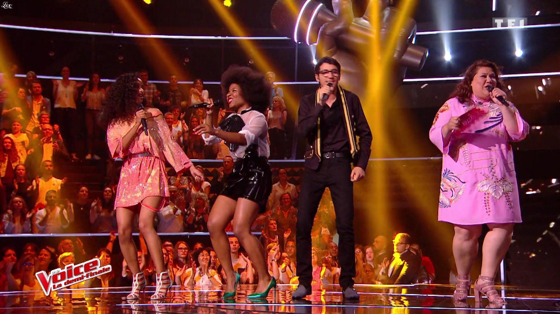 Une Inconnue dans The Voice. Diffusé à la télévision le 03/06/17.