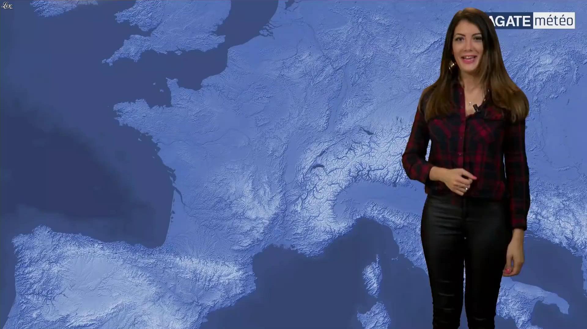 Virgilia Hess dans Agate Meteo. Diffusé à la télévision le 16/06/18.