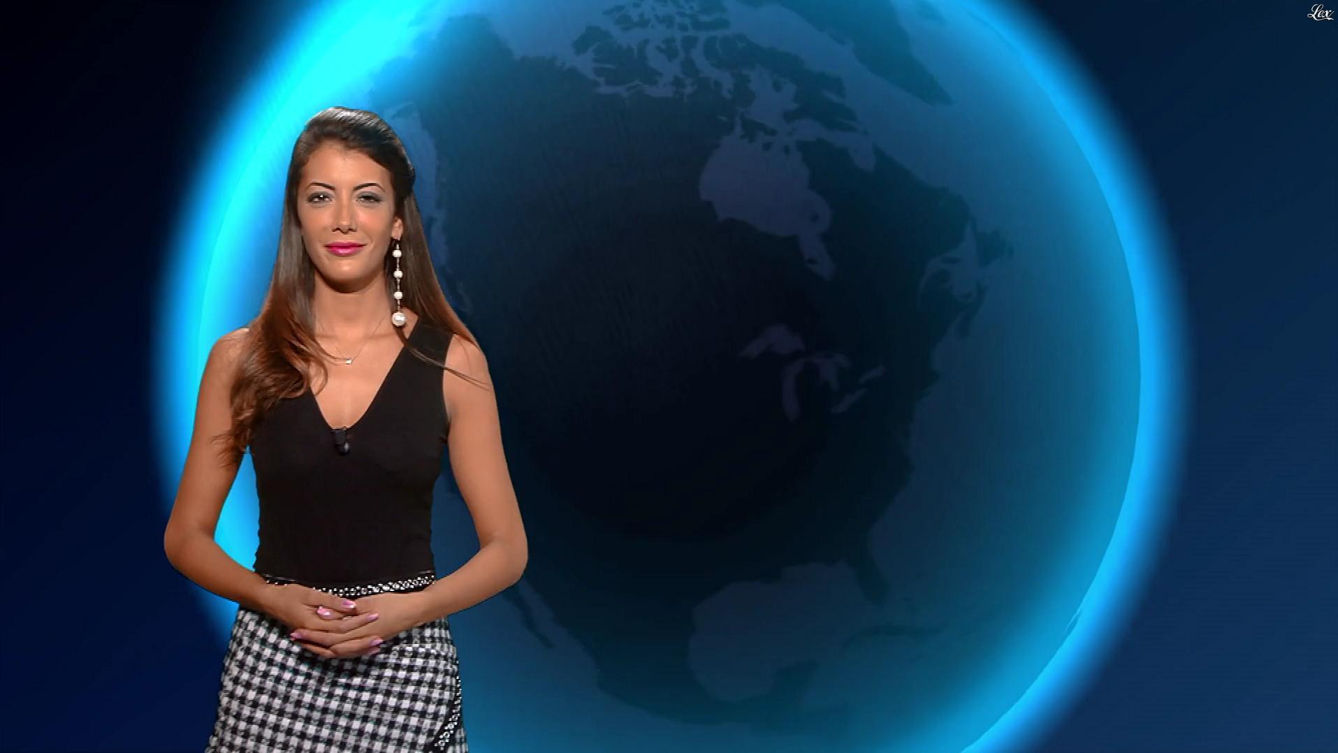Virgilia Hess dans la Meteo. Diffusé à la télévision le 02/11/18.