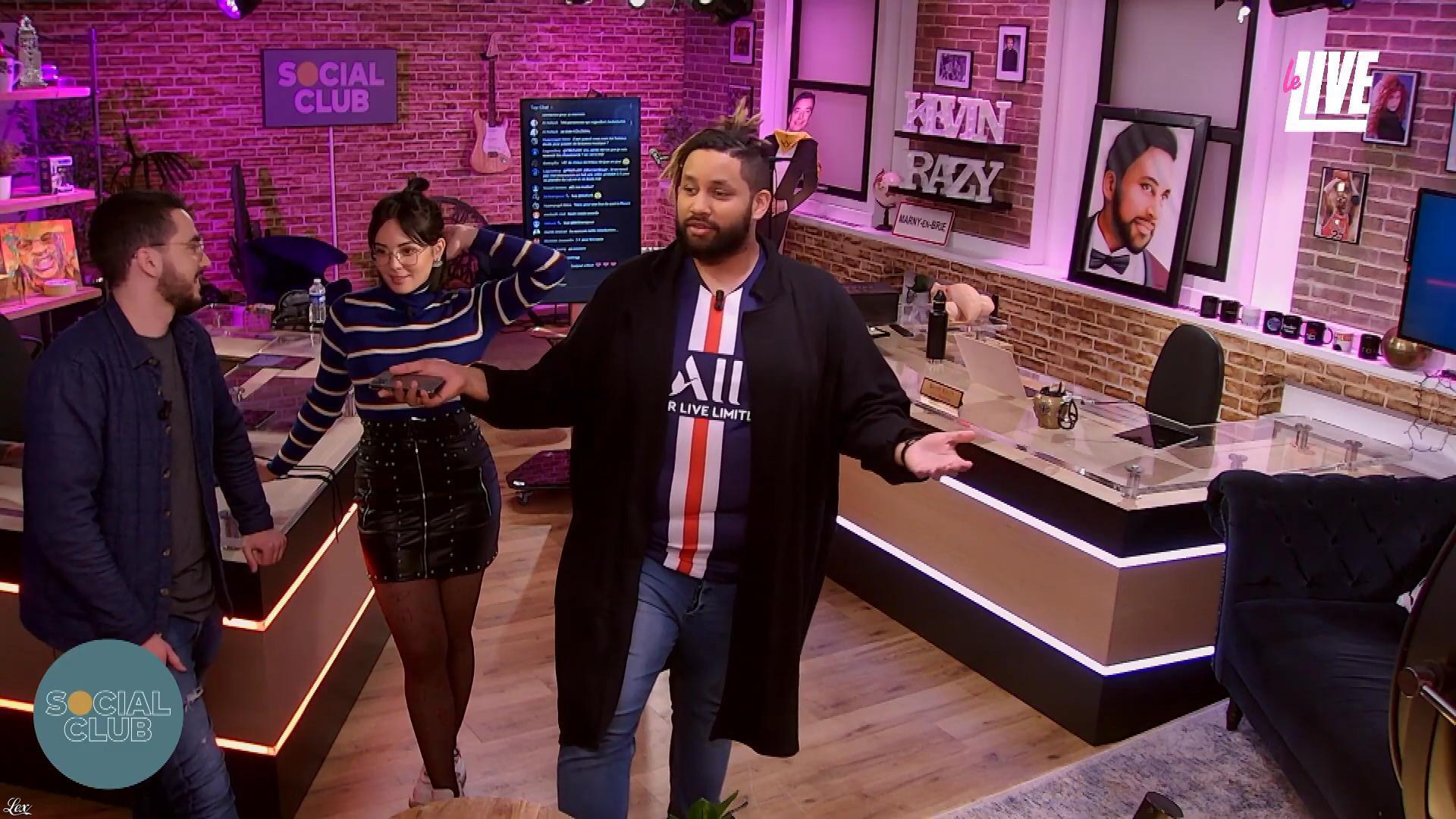 Agathe Auproux dans Social Club. Diffusé à la télévision le 18/02/20.