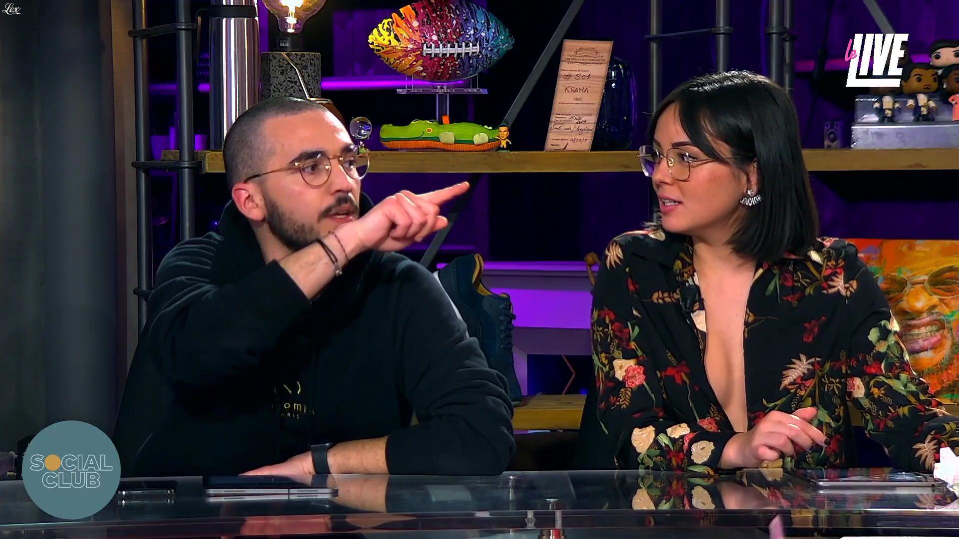 Agathe Auproux dans Social Club. Diffusé à la télévision le 27/02/20.