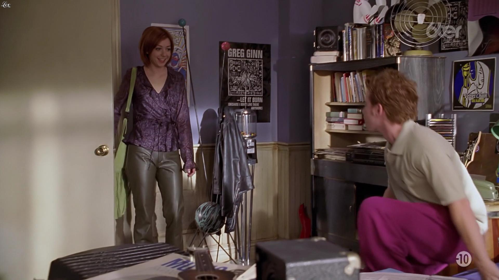 Alyson Hannigan dans Buffy Contre les Vampires. Diffusé à la télévision le 18/05/20.
