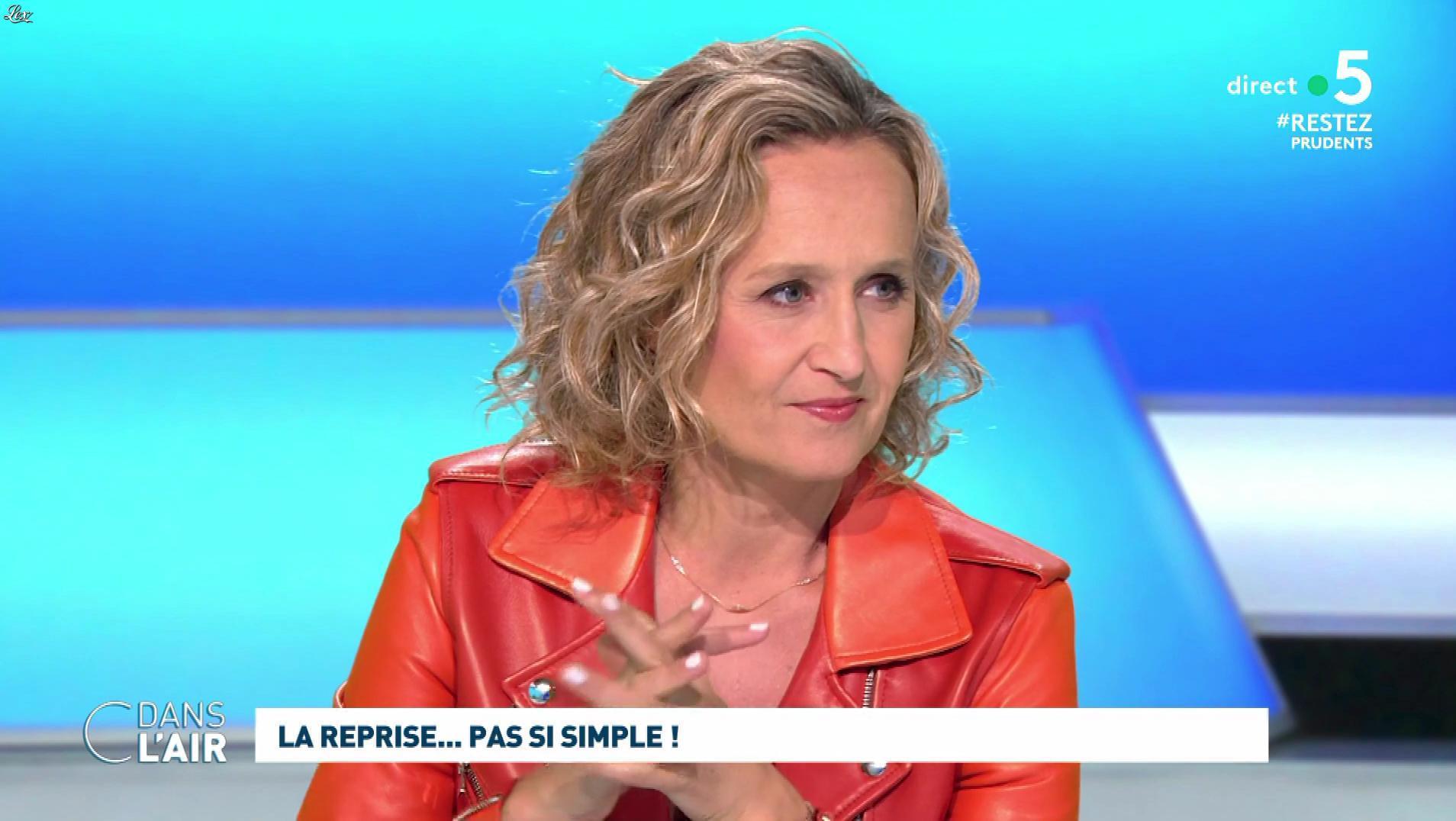 Caroline Roux dans C dans l'Air. Diffusé à la télévision le 02/06/20.