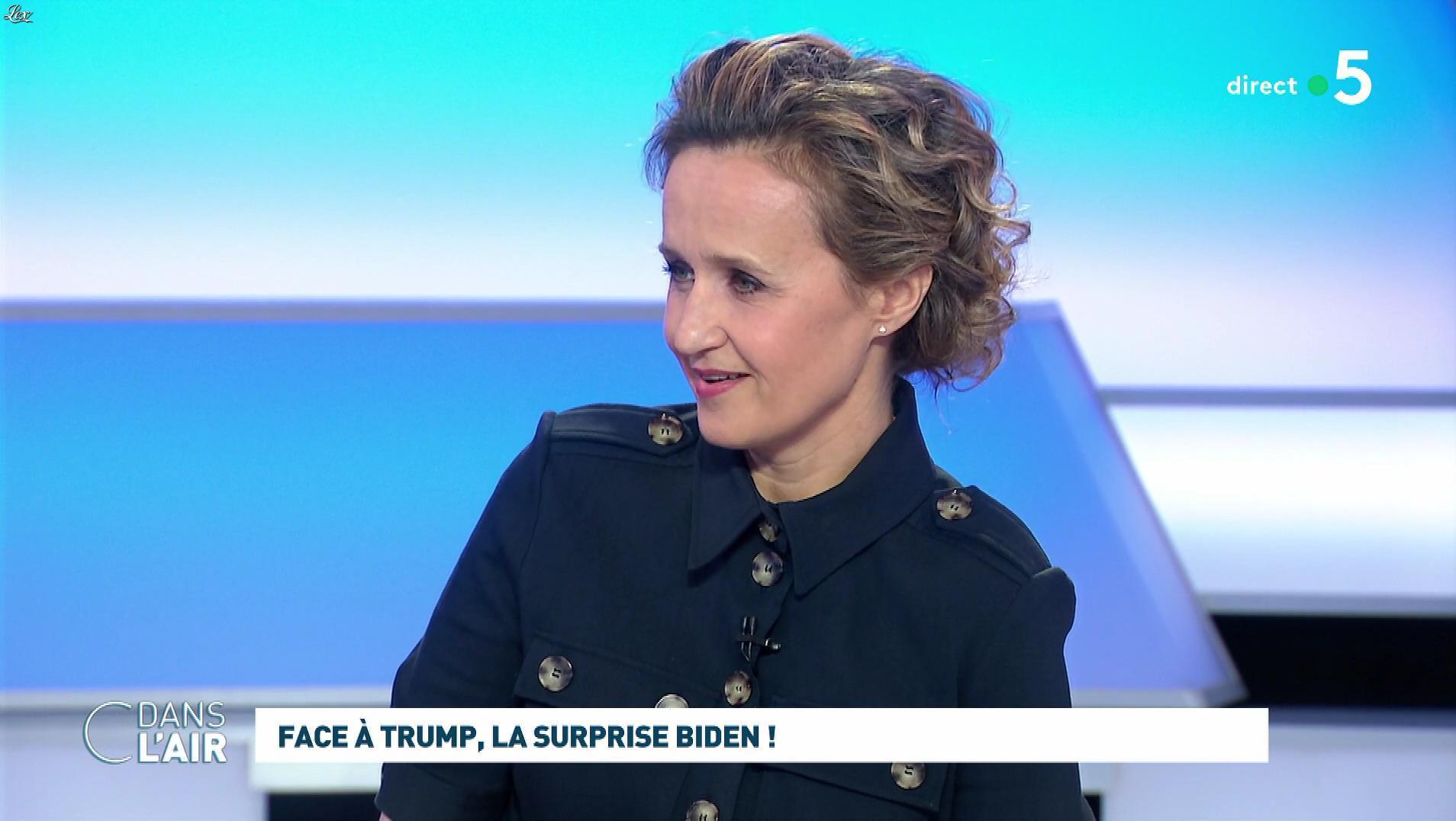 Caroline Roux dans C dans l'Air. Diffusé à la télévision le 04/03/20.