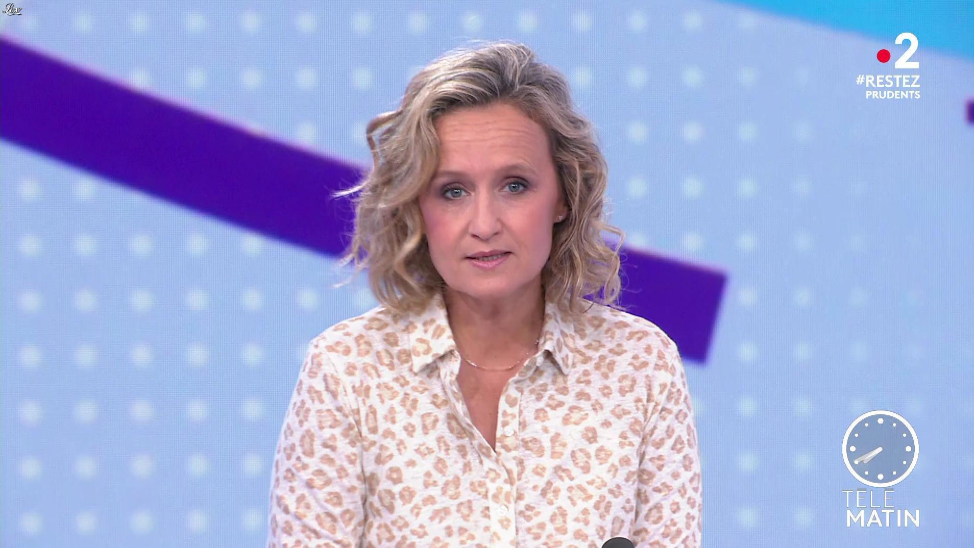 Caroline Roux dans les 4 Vérités. Diffusé à la télévision le 03/06/20.