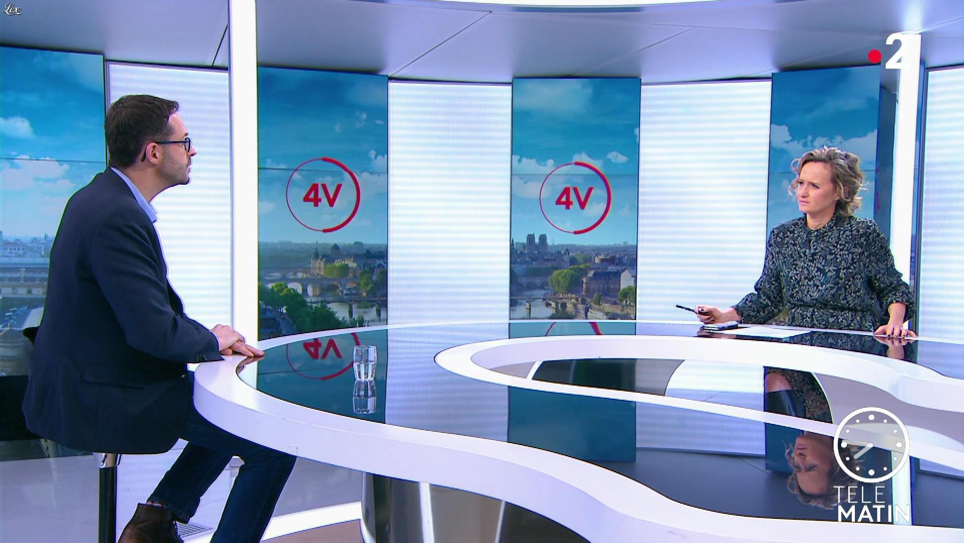 Caroline Roux dans les 4 Vérités. Diffusé à la télévision le 05/03/20.