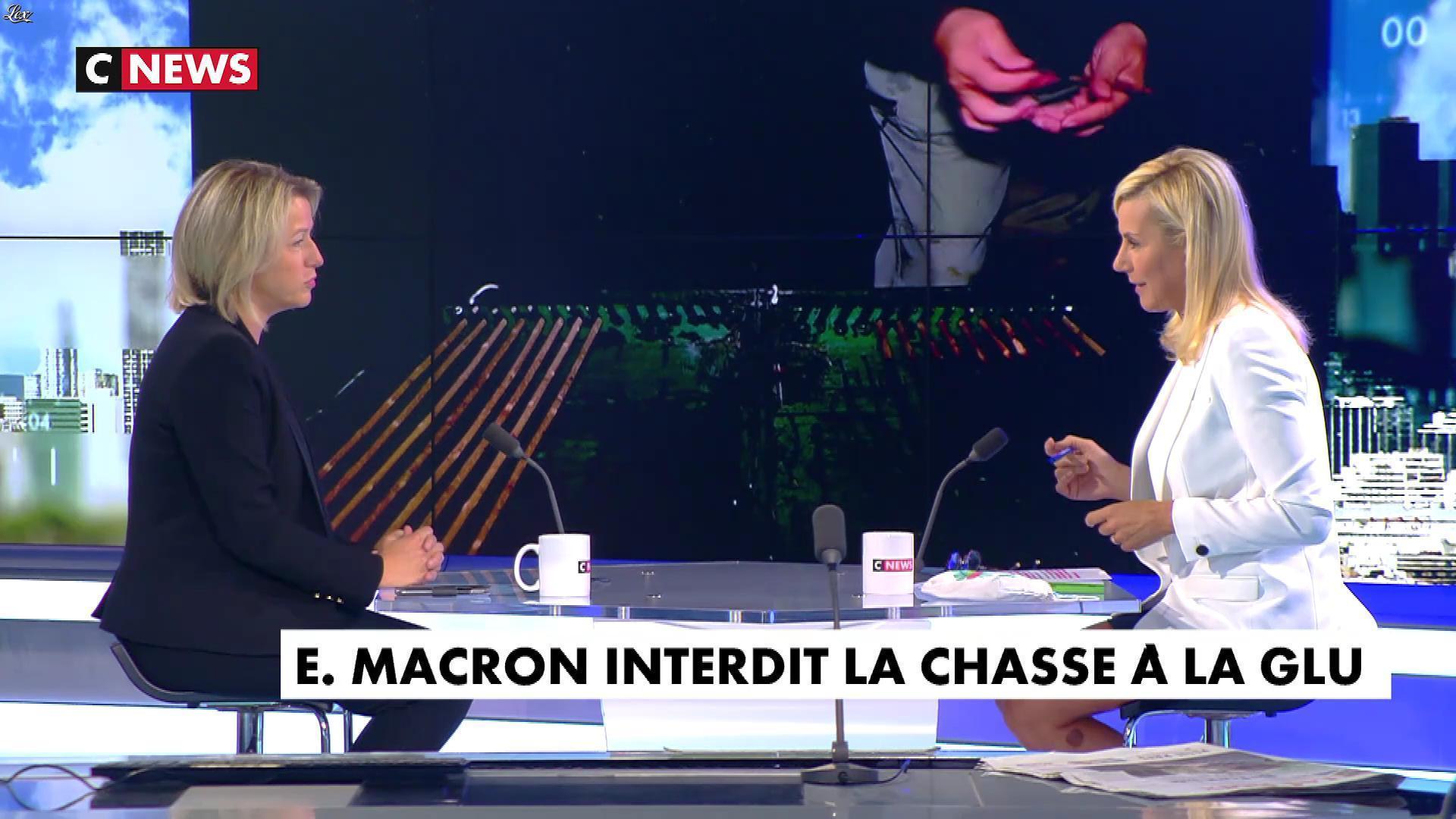 Laurence Ferrari dans l'Interview de Laurence Ferrari. Diffusé à la télévision le 28/08/20.