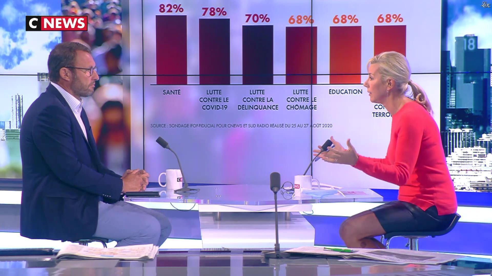 Laurence Ferrari dans l'Interview de Laurence Ferrari. Diffusé à la télévision le 31/08/20.